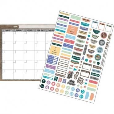Teacher Created Resources Sweet Classroom Calendar Set (ST/SET)