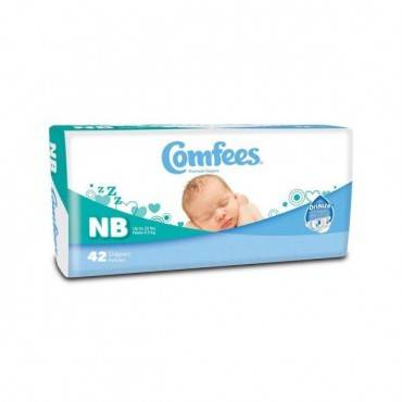 Comfees Baby Diapers - Newborn Part No. Cmf-n (42/package)