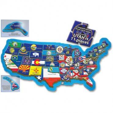 A Broader View 500-piece USA Puzzle (BX/BOX)
