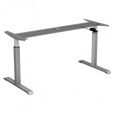 "Adaptivergo Pneumatic Height-adjustable Table Base, 26 1/4"" To 39 3/8"", Gray"