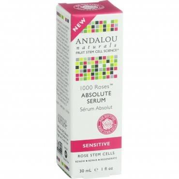 Andalou Naturals Absolute Serum - 1000 Roses - 1 Oz