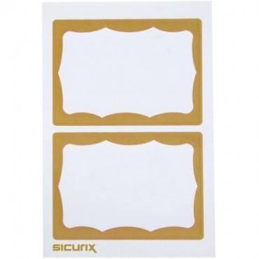 SICURIX Self-adhesive Visitor Badge (BX/BOX)