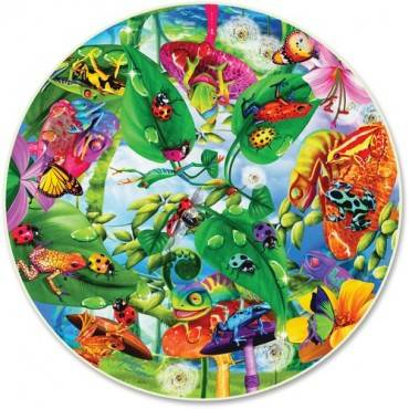A Broader View Creepy Critters 500-Piece Round Puzzle (BX/BOX)