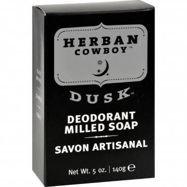 Herban Cowboy Milled Bar Soap Dusk - 5 Oz