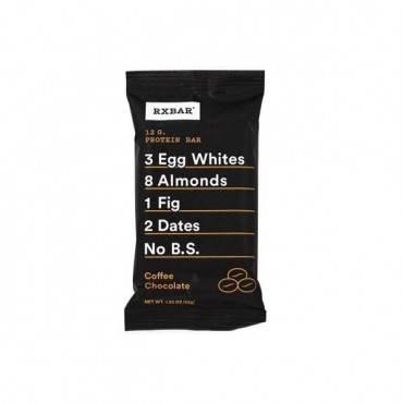 Rxbar - Protein Bar - Coffee Chocolate - Case Of 12 - 1.83 Oz.