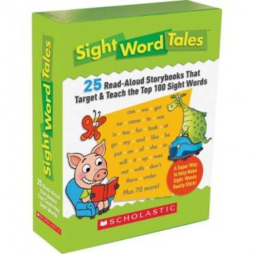Scholastic Res. Grade K-2 Sight Word Tales Box Set Education Printed Book - English (ST/SET)