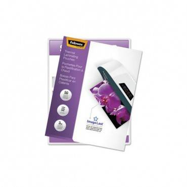 """Imagelast Laminating Pouches With Uv Protection, 3 Mil, 9"""" X 11.5"""", Clear, 50/pack"""