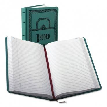 Record/account Book, Record Rule, Blue Cover, 500 Pages, 12 1/8 X 7 5/8