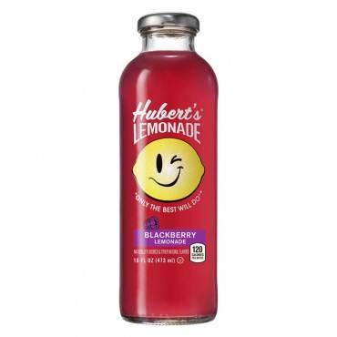 Hubert's Lemonade - Blackberry - Case of 12 - 16 fl oz