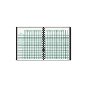 Undated Class Record Book, 10 7/8 X 8 1/4, Black
