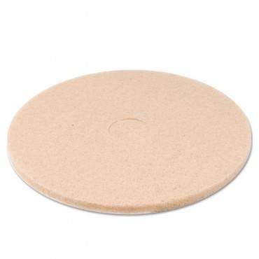"Tan Burnishing Floor Pads, 20"" Diameter, 5/carton"