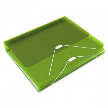 "Samsill  Duo 2-In-1 Binder Organizer, 11 X 8 1/2, 1"" Capacity, Green 10136 1 Each"