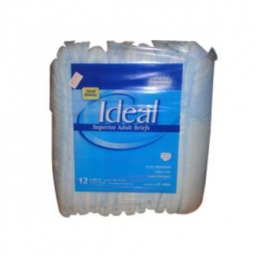"Ideal Brands Trim Mat Adult Brief Medium 31"" - 44"" Part No. Ic-4064 (16/package)"