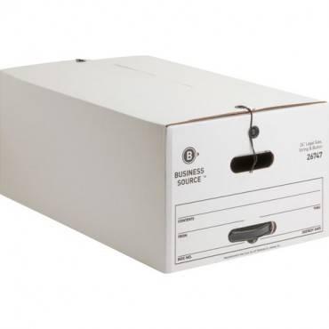 Business Source Medium Duty Legal Size Storage Box (CA/CASE)