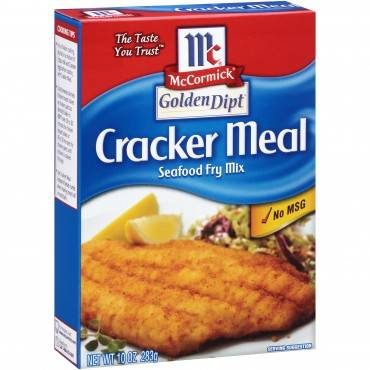 Golden Dipt - Breading - Cracker Meal - Case Of 8 - 10 Oz.
