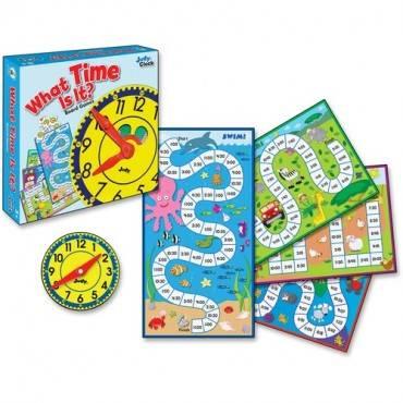 Carson-Dellosa Grades K-3 What Time Is It Board Game (EA/EACH)