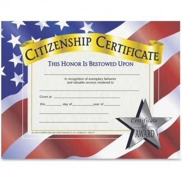 Flipside Citizenship Certificate (PK/PACKAGE)