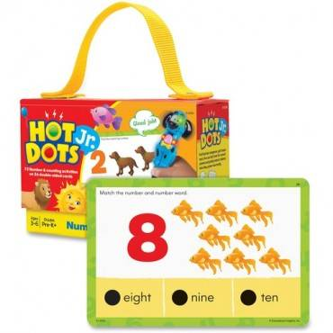 Hot Dots Jr. Numbers Card Set (ST/SET)