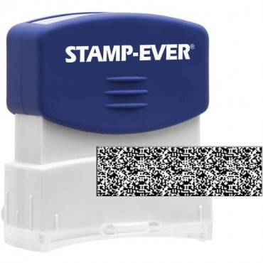 Stamp-Ever Pre-inked Security Block Stamp (EA/EACH)