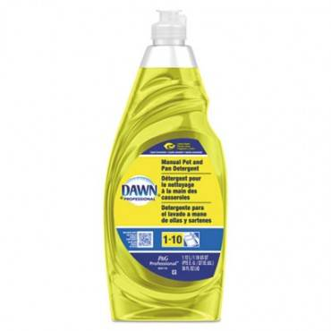 Manual Pot/pan Dish Detergent, Lemon, 38 Oz Bottle, 8/carton