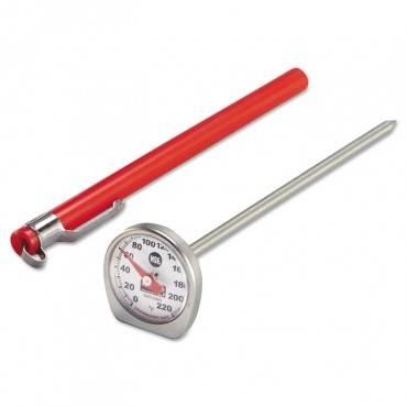 Dishwasher-safe Industrial-grade Analog Pocket Thermometer, 0f To 220f