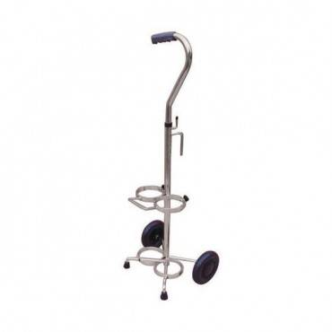 Drive Medical Oxygen Cylinder Cart-dual Tank For D/e Cylinders Part No.13001sv-2