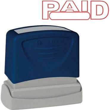 Sparco PAID Red Title Stamp (EA/EACH)