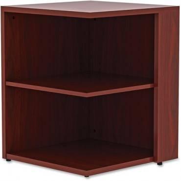 Lorell Essentials Series Mahogany Laminate Desking (EA/EACH)