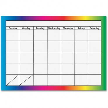 Ashley 1-month Dry Erase Magnetic Calendar (EA/EACH)