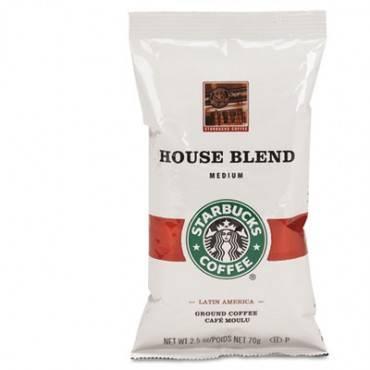 Coffee, Regular House Blend, 2.5oz Packet, 18/box