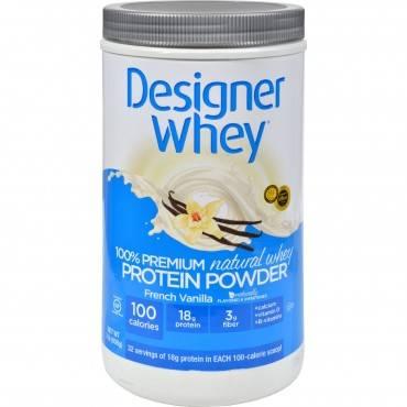 Designer Whey - Protein Powder - French Vanilla - 2 Lbs