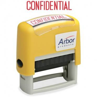 "SKILCRAFT Pre-inked ""Confidential"" Stamp (EA/EACH)"