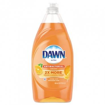 Dawn  ULTRA ANTIBACTERIAL DISHWASHING LIQUID, ORANGE SCENT, 28 OZ BOTTLE 97318EA 1 Each
