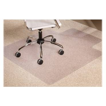 "Multi-task Series Anchorbar Chair Mat For Carpet Up To 0.38"", 36 X 48, Clear"