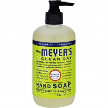 Mrs. Meyer's Clean Day - Liquid Hand Soap - Lemon Verbena - Case Of 6 - 12.5 Oz