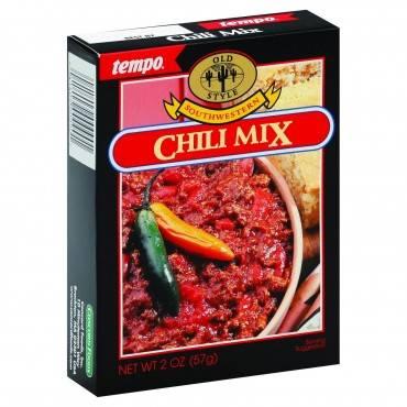 Tempo Chili Mix - Southwestern - 2 oz - Case of 12