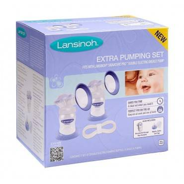 Lansinoh Signature Pro Extra Pumping Set Part No. 53431 (1/ea)