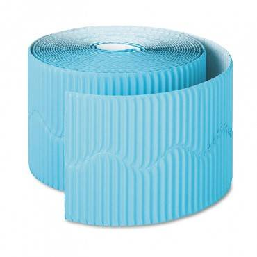 "Pacon  Bordette Decorative Border, 2 1/4"" X 50' Roll, Azure Blue PAC37166 1 Roll"