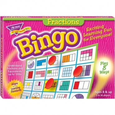 Trend Fractions Bingo Game (EA/EACH)