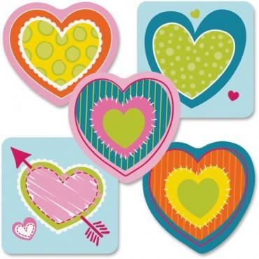 Carson-Dellosa Hearts Mini Cut-outs (PK/PACKAGE)