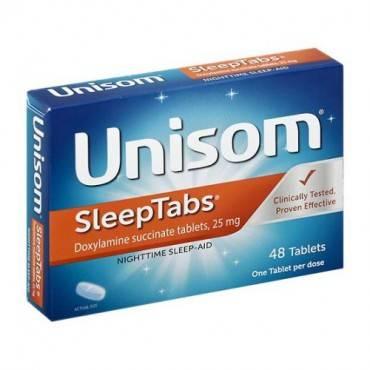 Unisom Sleeptabs, 48 Count Part No. 0-41167-00623 (1/ea)