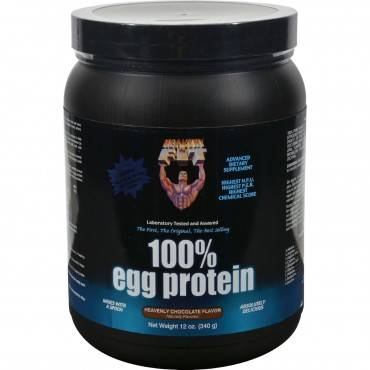 Healthy 'N Fit Nutritionals 100% Egg Protein Heavenly Chocolate - 12 oz