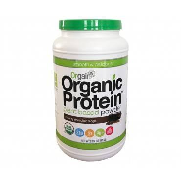 Orgain Organic Protein Powder - Plant Based - Creamy Chocolate Fudge - 2.03 Lb