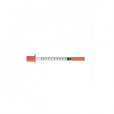 """Safetyglide Insulin Syringe 29g X 1/2"""", 1 Ml Part No. 305930 (100/box)"""