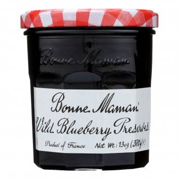 Bonne Maman - Conserve - Wild Blueberry - Case Of 6 - 13 Oz.