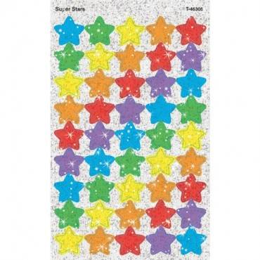 Trend Sparkling star-shaped stickers (PK/PACKAGE)
