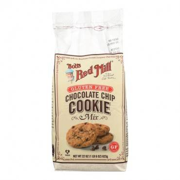 Bob's Red Mill - Gluten Free Chocolate Chip Cookie Mix - 22 Oz - Case Of 4