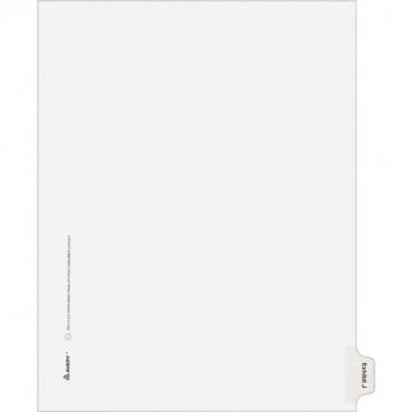 Avery® Individual Legal Exhibit Dividers - Allstate Style (PK/PACKAGE)