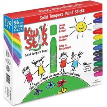 The Pencil Grip Kwik Stix 96-Piece Tempera Paint Sticks (BX/BOX)