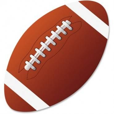 Ashley Football Magnetic Whiteboard Eraser (EA/EACH)